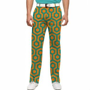 Loudmouth South Beach Golf Pants Size 34 NWOT